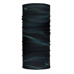 BUFF tubular R-Glow Waves Black
